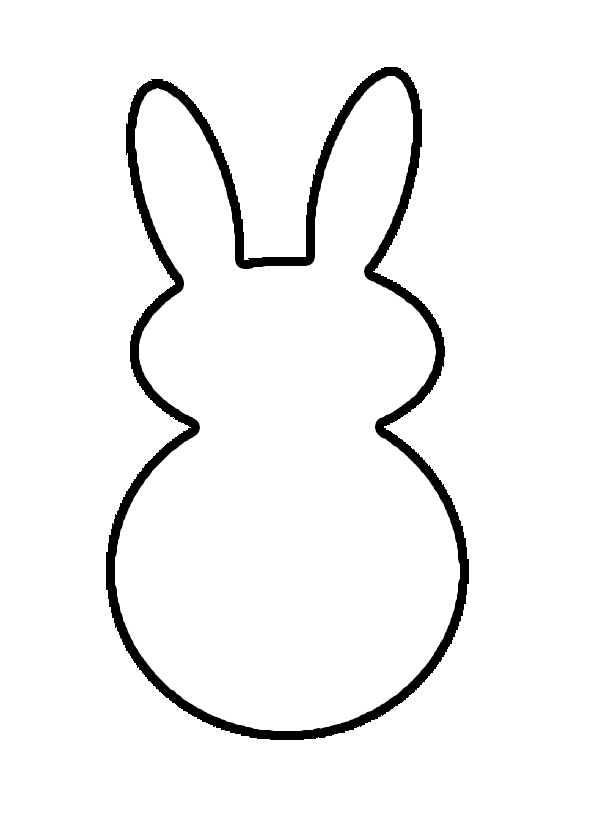 Free Outline Of A Bunny, Download Free Clip Art, Free Clip