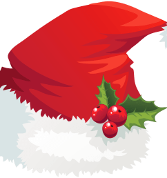 xmas stuff for christmas santa hat clipart [ 3745 x 2802 Pixel ]
