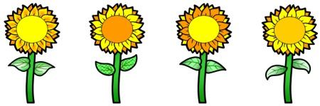 free flower stem template