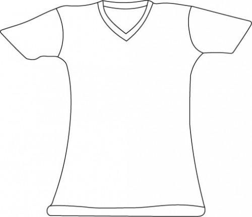 Free T Shirt Printable Template, Download Free Clip Art