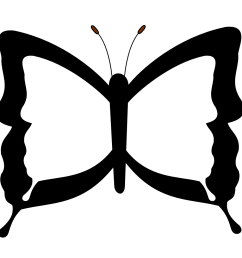 black and white butterfly images clipart library [ 999 x 990 Pixel ]
