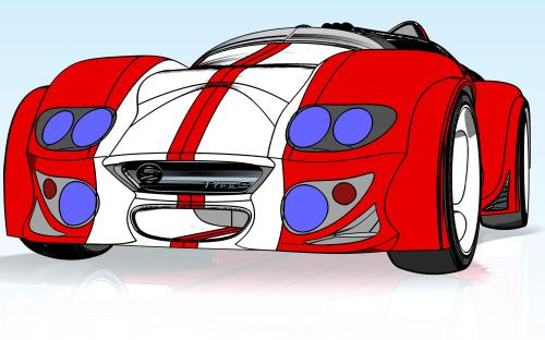 small resolution of race car cartoon images clipart library