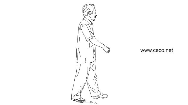Free Walking Man Drawing, Download Free Clip Art, Free