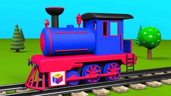 Free Cartoon Train Clip Art