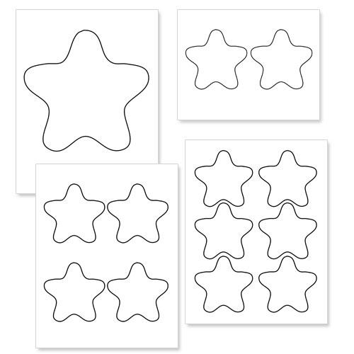 Free Printable Star, Download Free Clip Art, Free Clip Art
