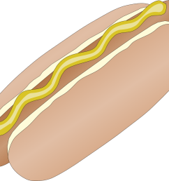 hot dog images free clipart library [ 1331 x 1131 Pixel ]