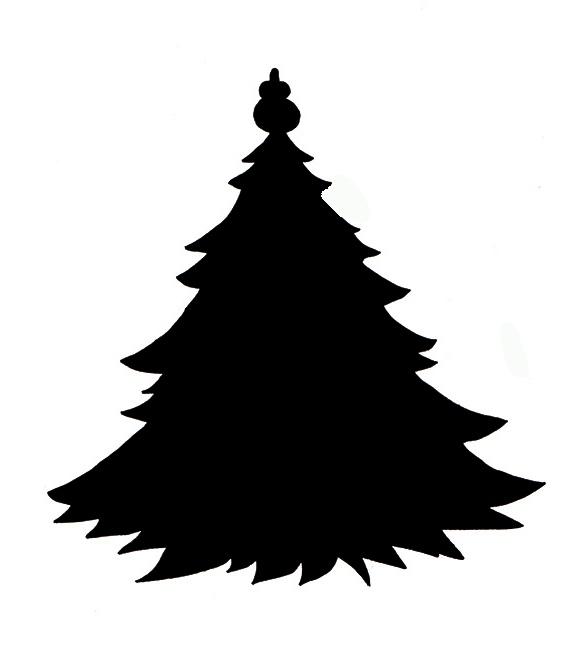 Free Xmas Tree Silhouette Download Free Clip Art Free