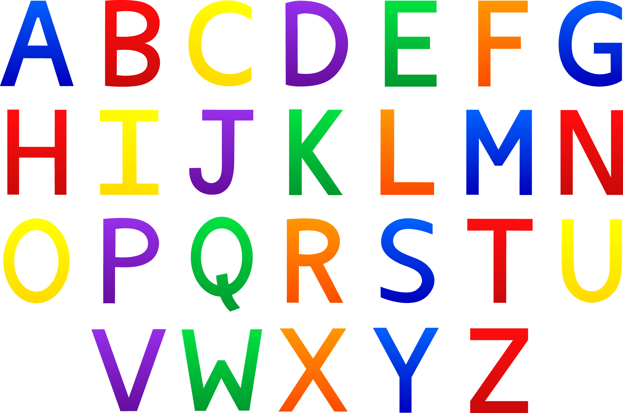 hight resolution of alphabet clipart for kids clipart library free clipart images