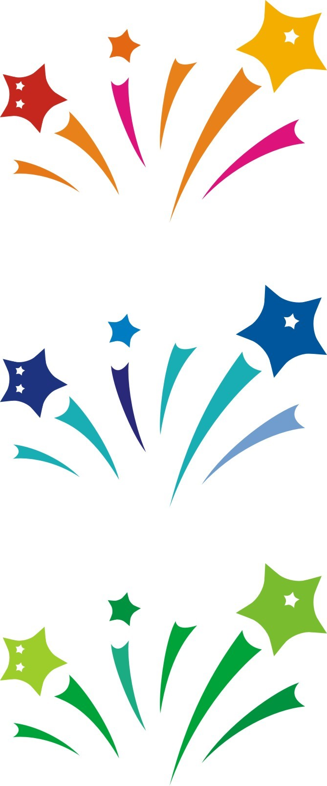 hight resolution of shooting stars graphic clipart library