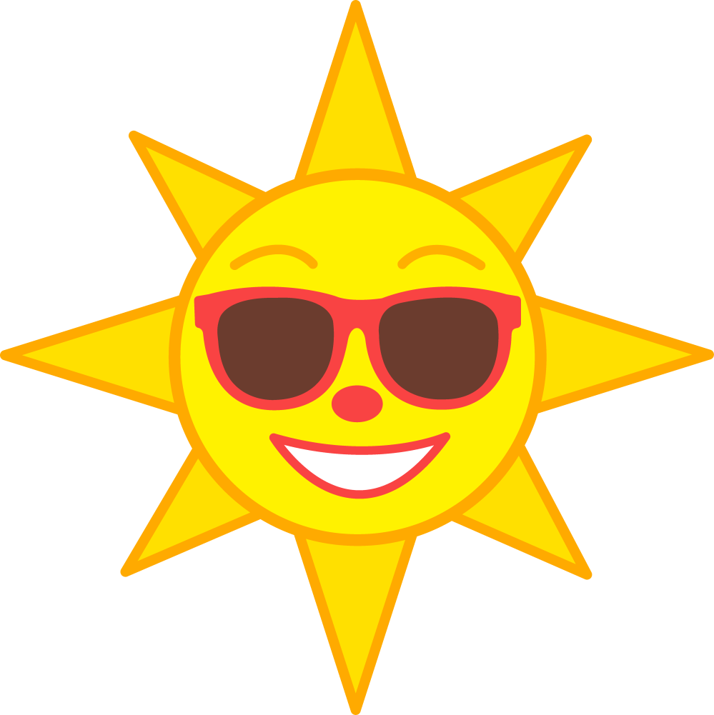 medium resolution of smiling sun clipart royalty free clipart library free clipart images