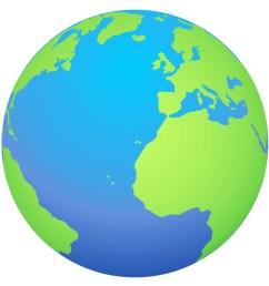 cartoon globe [ 1000 x 983 Pixel ]