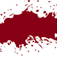 transparent blood splatter [ 1522 x 885 Pixel ]