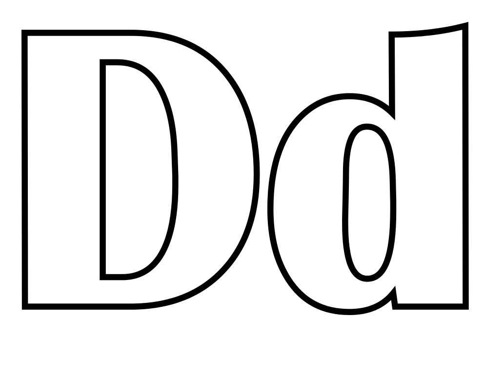 Free Letter D, Download Free Clip Art, Free Clip Art on