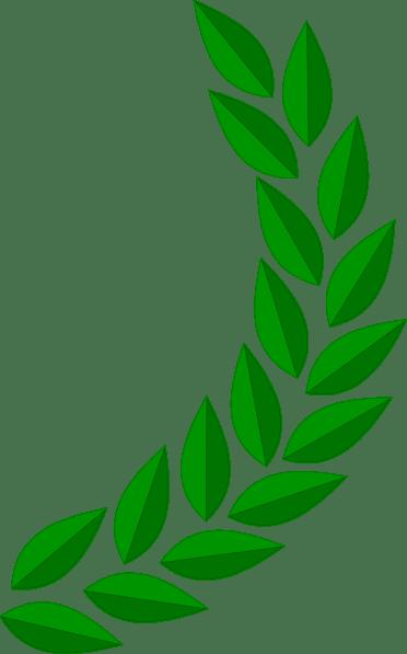 Vector Padi Kapas : vector, kapas, Laurel, Wreath, Clipart, Library