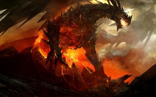 Fire Dragon Art