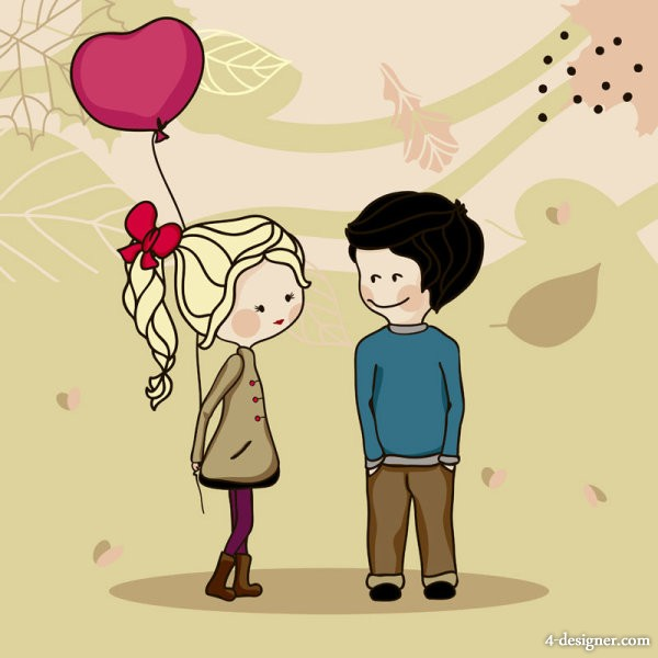 Cute Couple Pic Cartoon Hd