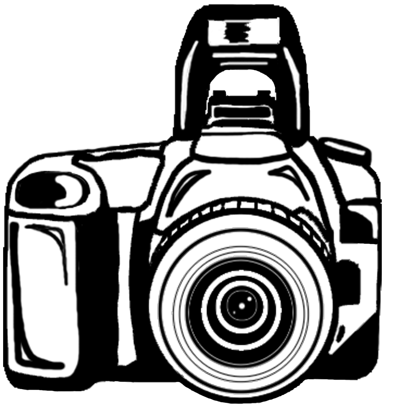 hight resolution of vector camera clipart library