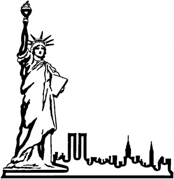 Free Statue Of Liberty Drawing, Download Free Clip Art