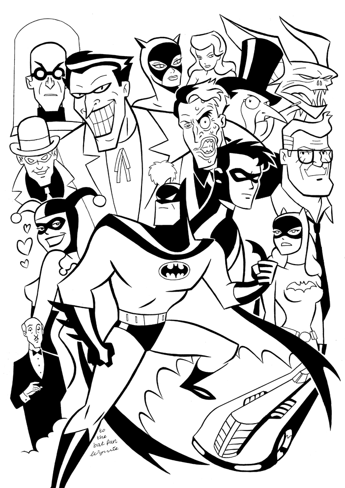 Free Pictures Of Batman To Color, Download Free Clip Art