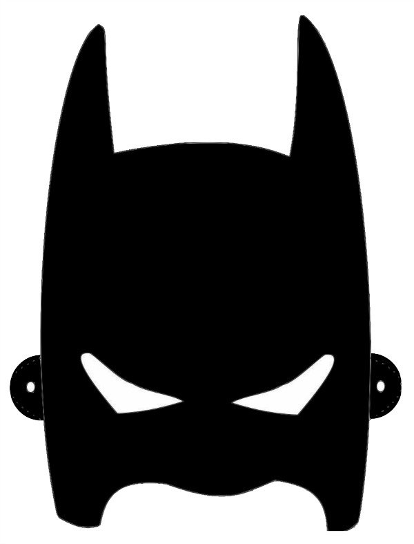 Batman Cowl Template : batman, template, Batman, Download, Clipart, Library
