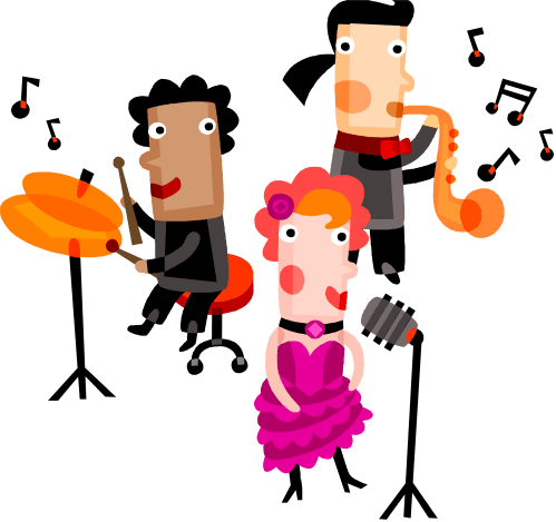 small resolution of jazz singer clip art images pictures becuo