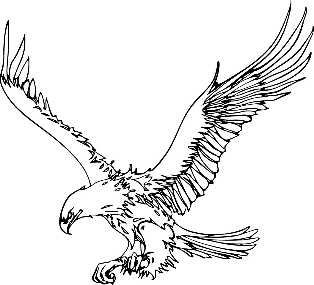 Free Outline Of Eagle Download Free Clip Art Free Clip