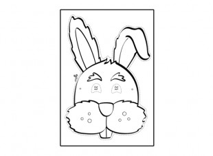 Free Rabbit Template, Download Free Clip Art, Free Clip
