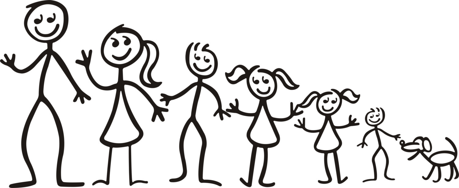Free Stick Figure Family Pictures, Download Free Clip Art