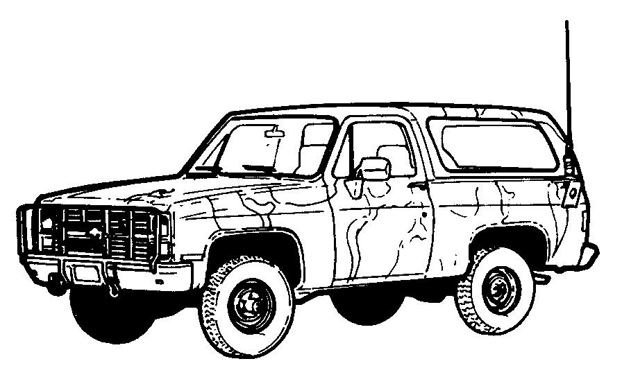 Jeep Van Truck