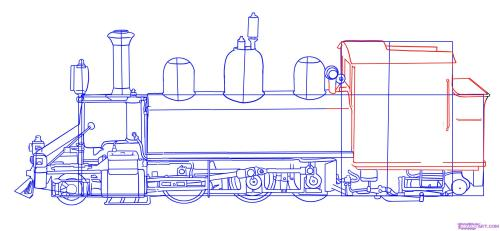 small resolution of how to draw a train step by step trains transportation free