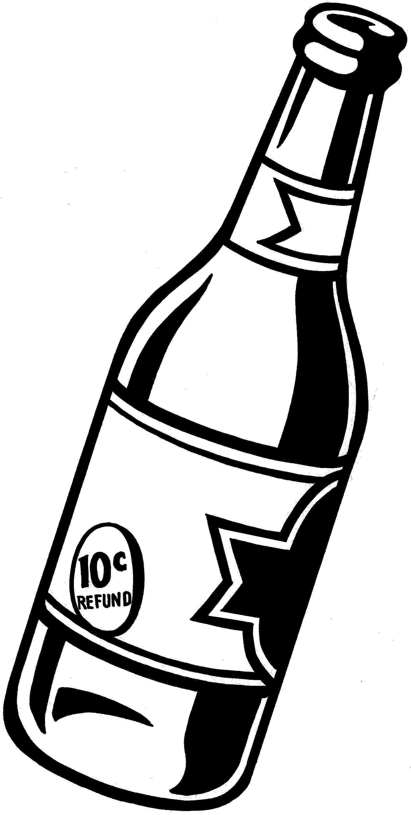 Free Beer Bottle, Download Free Clip Art, Free Clip Art on