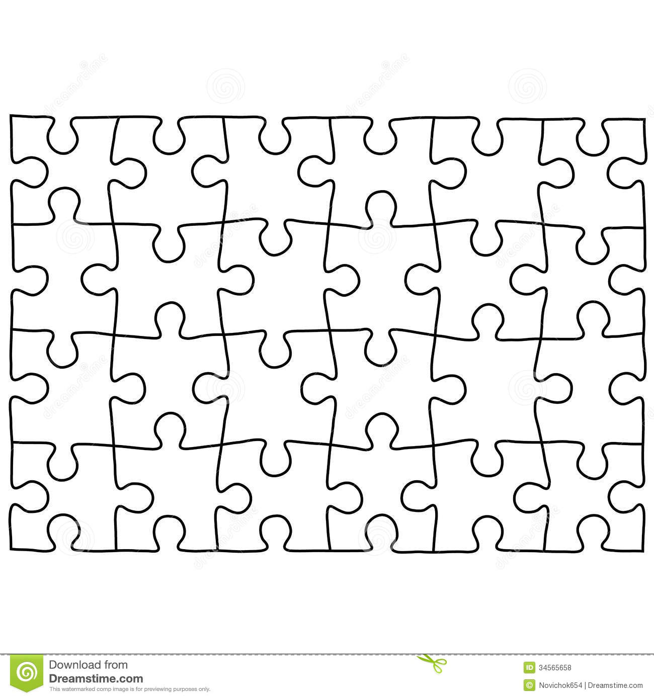 Puzzle Template - Best Template Collection
