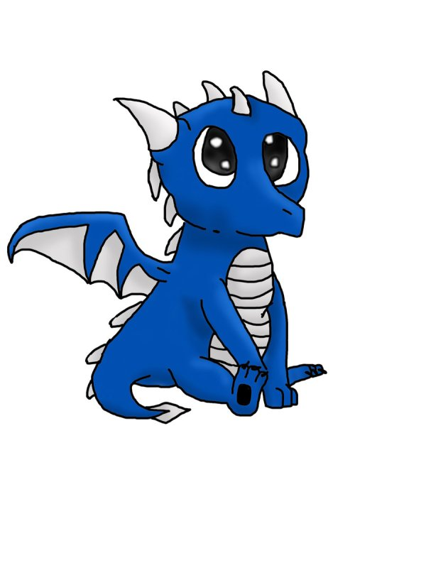 Free Cute Baby Dragon Clip Art Clipart Library