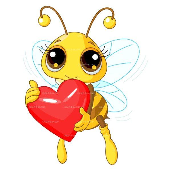 Bee Love Clip Art