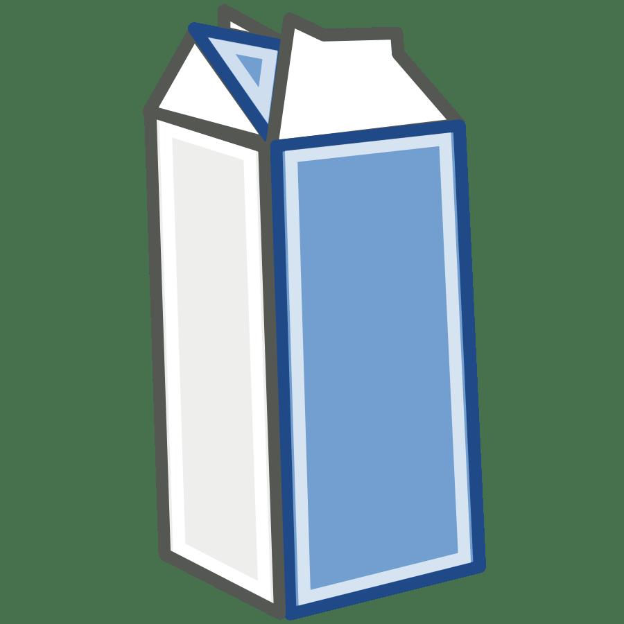 medium resolution of tango style milk carton clipart vector clip art online royalty