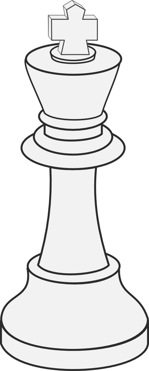 clipart-white-king-chess-512x