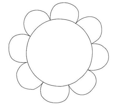 Free Daisy Flower Template, Download Free Clip Art, Free