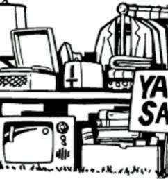 clip art yard sale clipart library [ 1471 x 897 Pixel ]