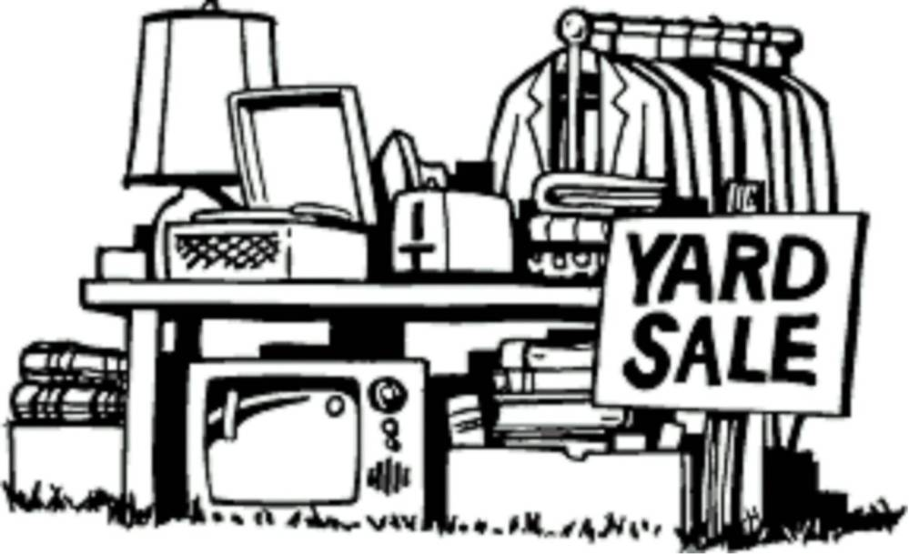 medium resolution of clip art yard sale clipart library