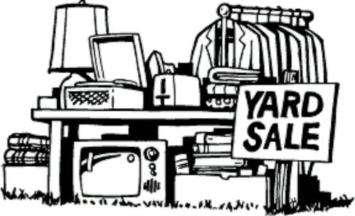 small resolution of clip art yard sale clipart library