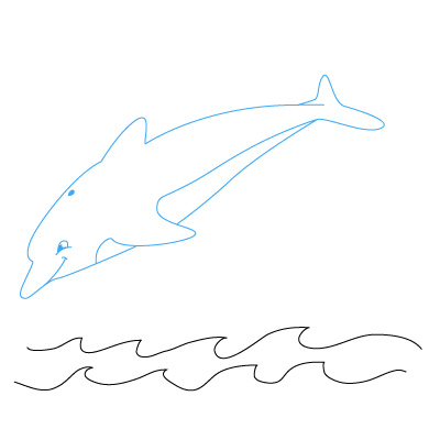How To Draw A Dolphin Fun Drawing Lessons For Kids Adults
