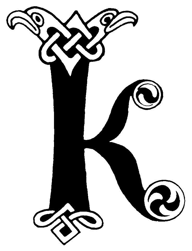 Free Celtic Lettering Alphabet, Download Free Clip Art