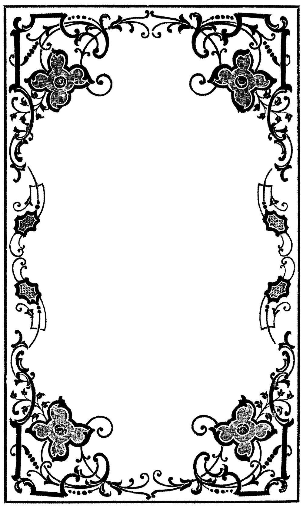 medium resolution of victorian border clip art clipart library