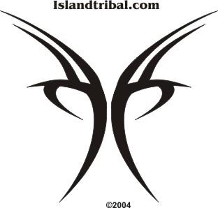 Gambar Tato Tribal Di Lengan Simple