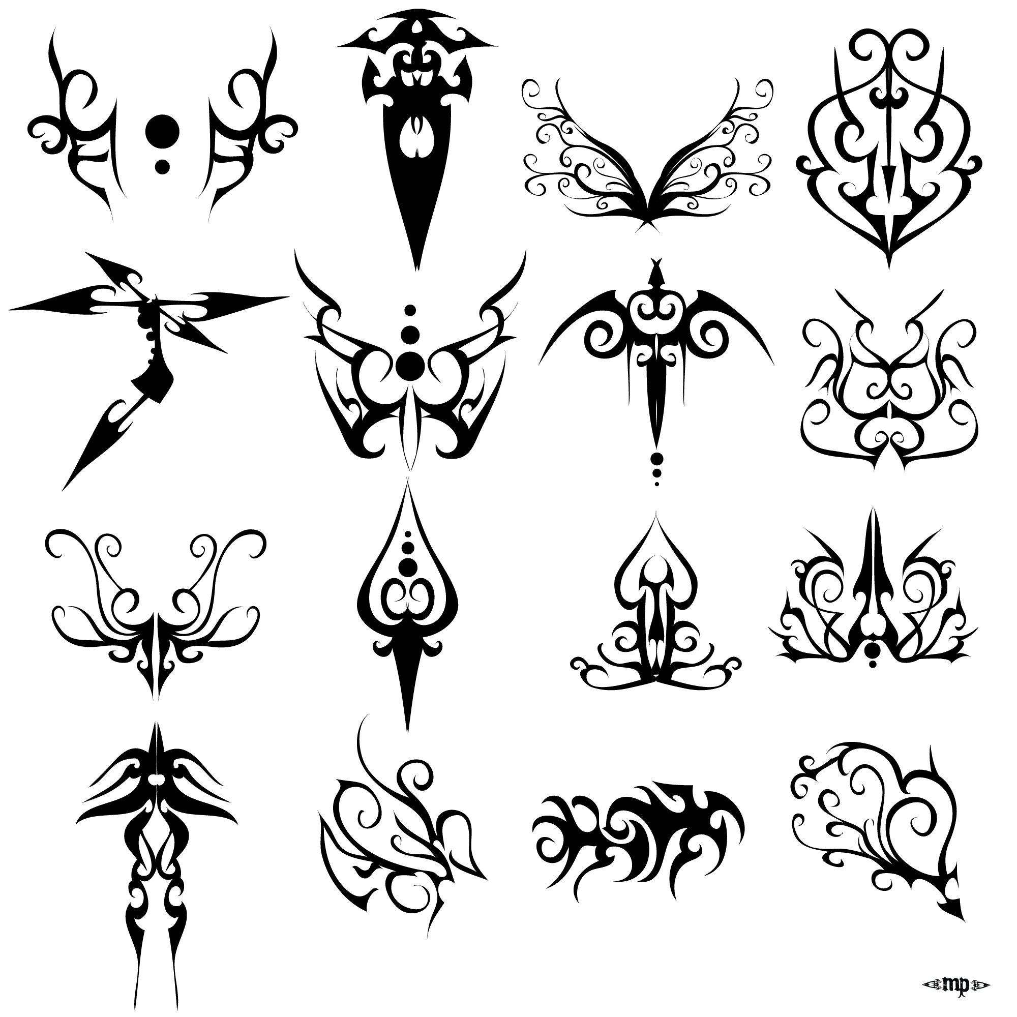 Simple Tattoo Drawings On Paper