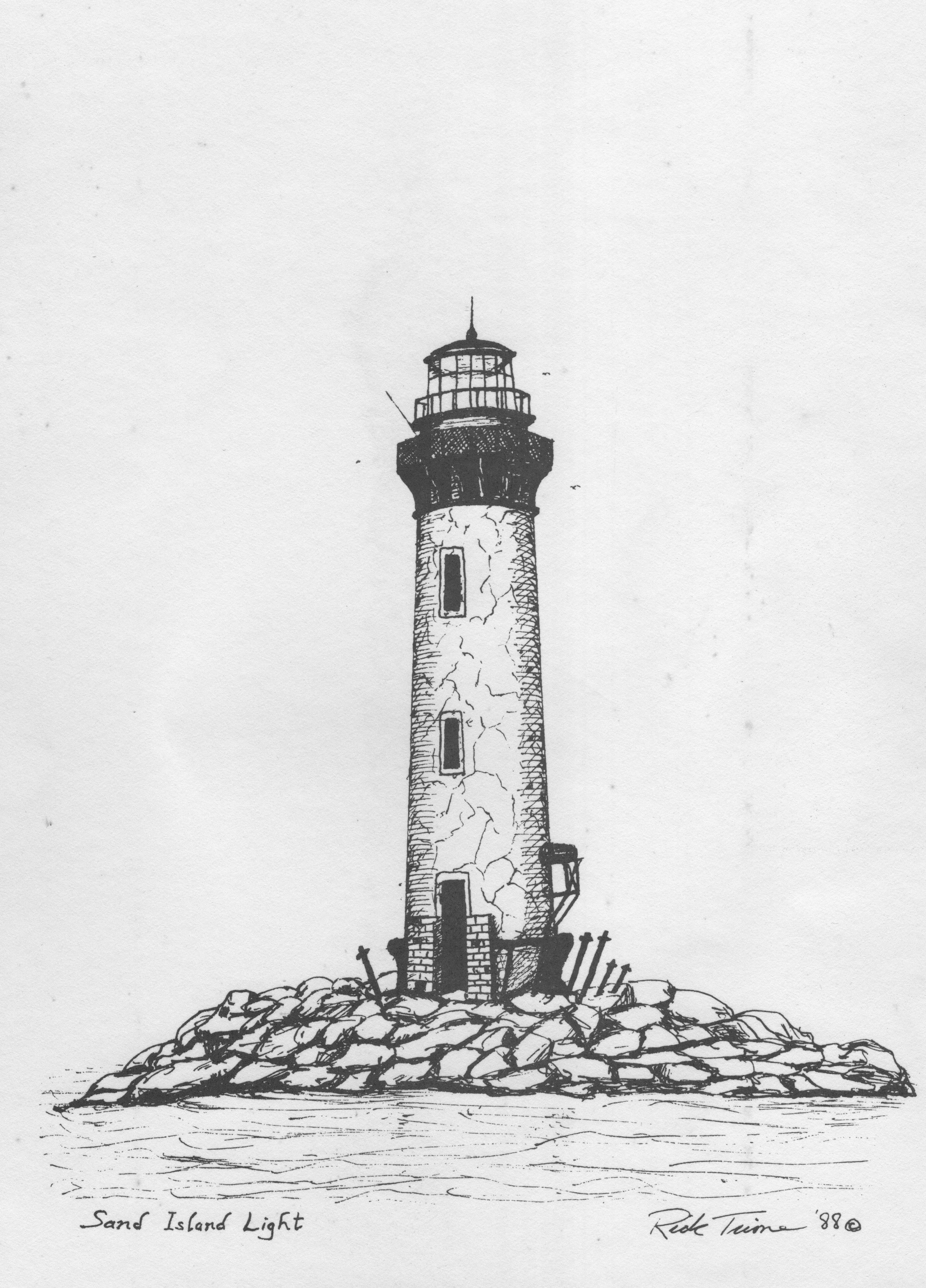 Free Lighthouse Drawing, Download Free Clip Art, Free Clip