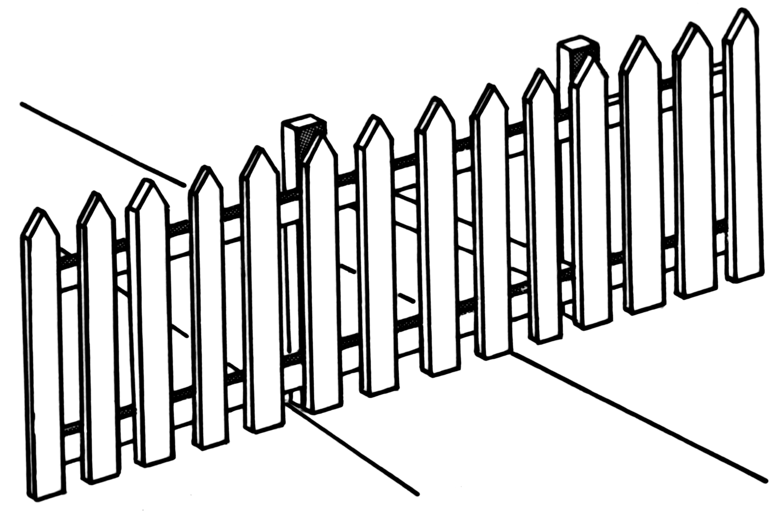 Free Picket Fence Download Free Clip Art Free Clip Art On Clipart Library