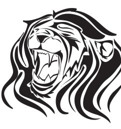 images of roaring lions clipart library [ 2048 x 1536 Pixel ]