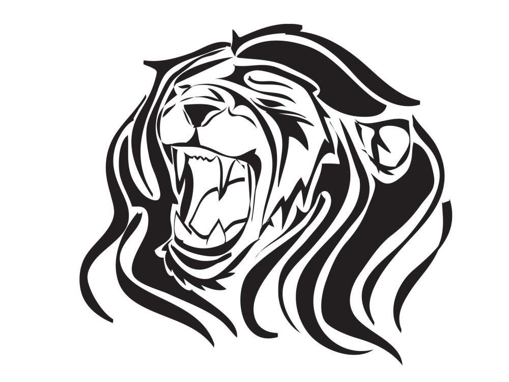 medium resolution of images of roaring lions clipart library