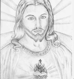 new drawing images of jesus drawing tips 4 [ 762 x 1048 Pixel ]